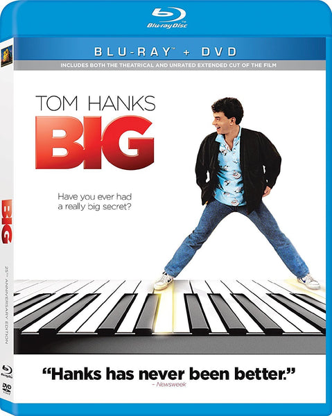 Big Blu-Ray + DVD (2-Disc Set) (Free Shipping)