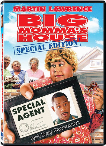 Big Momma's House DVD (Special Edition) (Free Shipping)