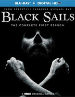 Black Sails: The Complete First Season Blu-ray + Digital HD with 3D Slip Cover (Free Shipping)