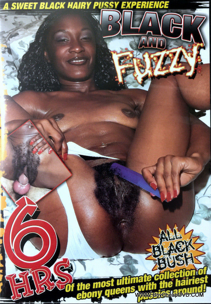 Black And Fuzzy Adult DVD (Free Shipping)