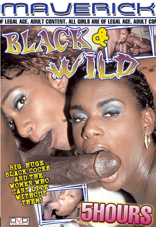 Black And Wild DVD (5 Hours Black Adult) (Free Shipping)