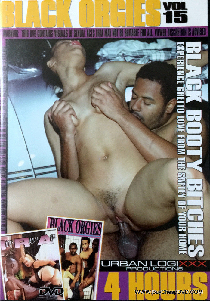 Black Orgies - Black Booty Bitches Adult DVD (Free Shipping)