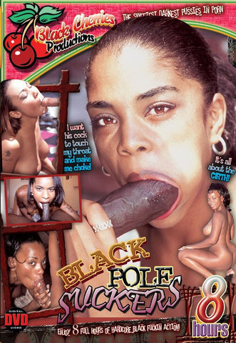 Black Pole Sucker DVD (Adult 8 Hours) (Free Shipping)