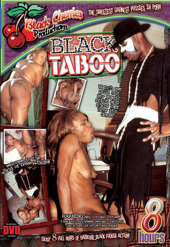 Black Taboo DVD (Adult 8 Hours) (Free Shipping)