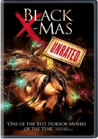 Black X-Mas: Unrated DVD (Free Shipping)