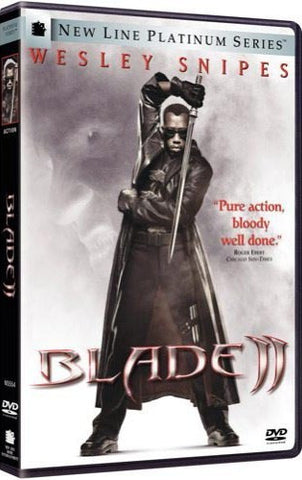 Blade II 2 DVD (New Line Platinum Series) (Free Shipping)