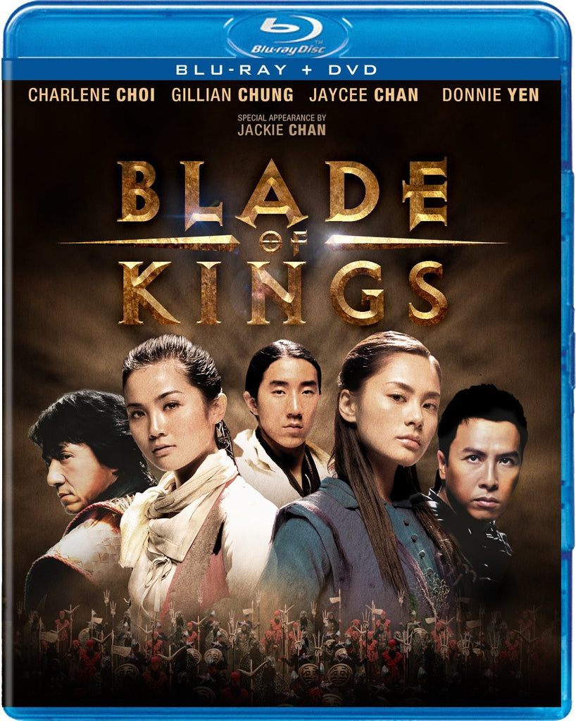 Blade Of Kings Blu-Ray + DVD (2-Disc Set) (Free Shipping)