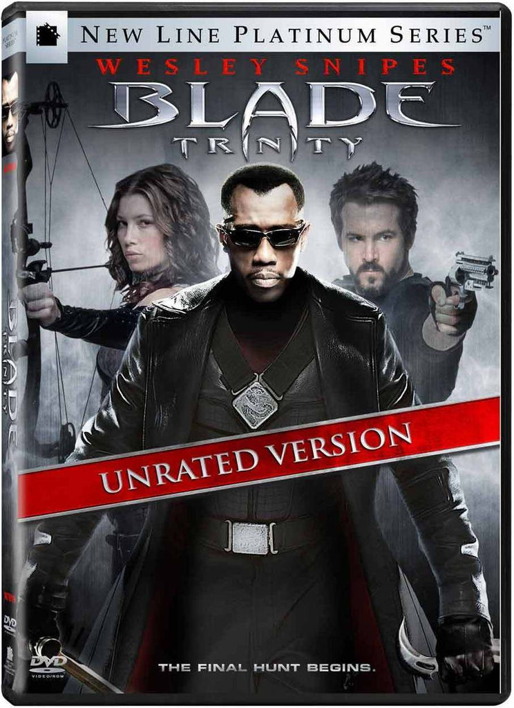 Blade - Trinity DVD (Unrated 2-Disc New Line Platinum Series) (Free Shipping)