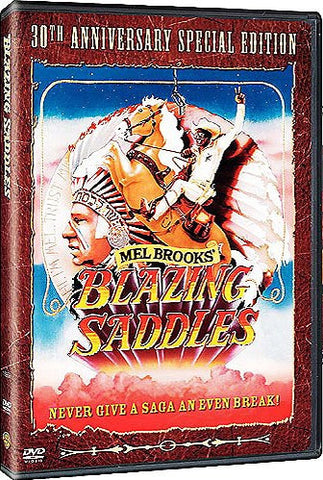 Blazing Saddles DVD (30th Anniversary Special Edition) (Free Shipping)