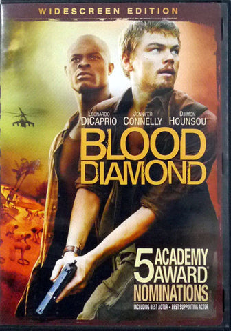 Blood Diamond DVD (Widescreen) (Free Shipping)