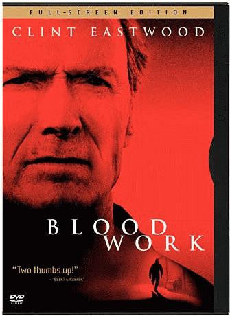Blood Work DVD (Fullscreen Edition) (Free Shipping)