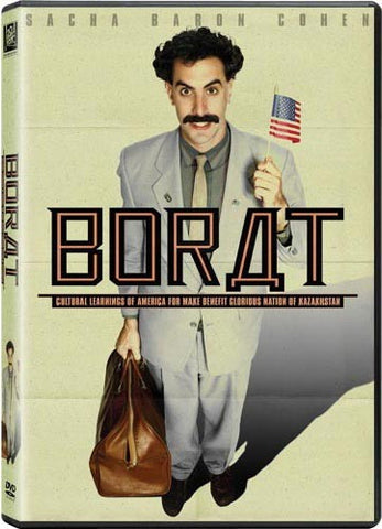 Borat DVD (Widescreen) (Free Shipping)
