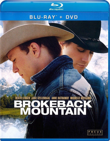 Brokeback Mountain Blu-Ray + DVD (2-Disc Set) (Free Shipping)