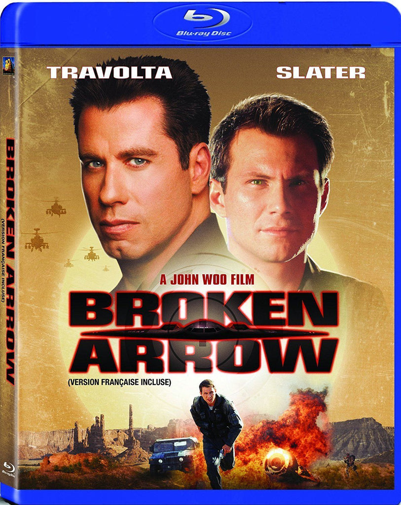 Broken Arrow Blu-Ray (Free Shipping)