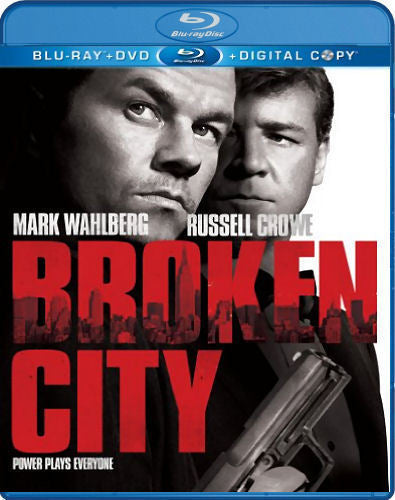 Broken City Blu-Ray + DVD + Digital Copy (2-Disc Set) (Free Shipping)