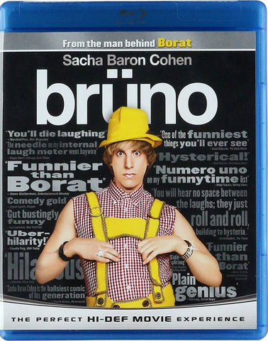 Bruno Blu-Ray (Free Shipping)