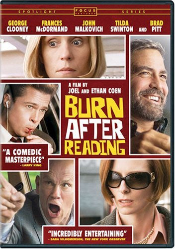 Burn After Reading DVD (Free Shipping)
