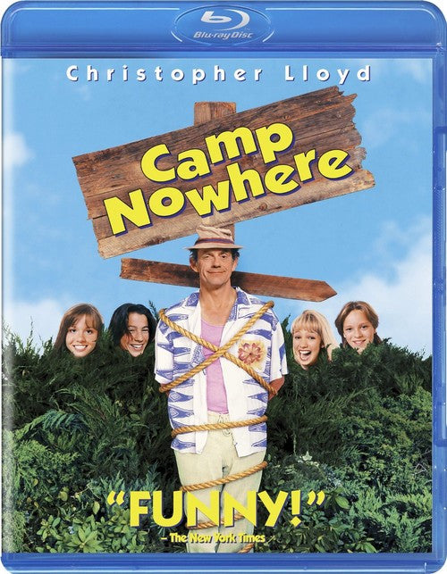 Camp Nowhere Blu-Ray (Free Shipping)