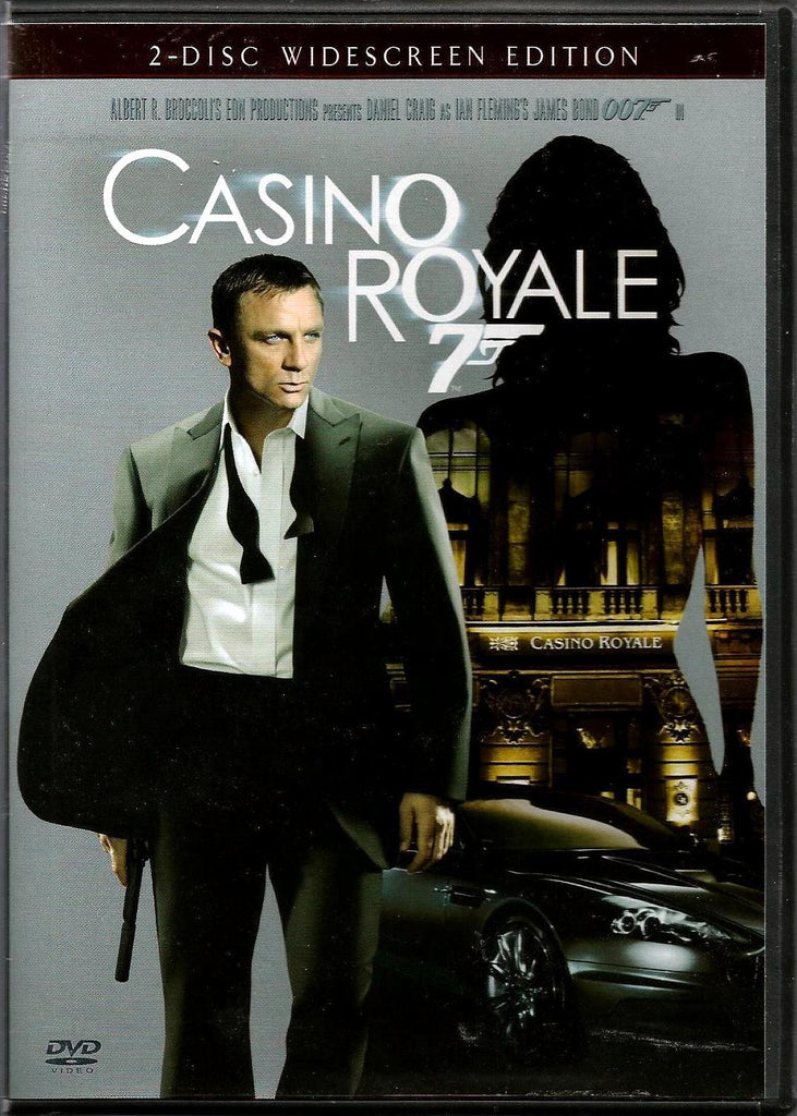 Casino Royale DVD (2-Disc Widescreen Edition) (Free Shipping)