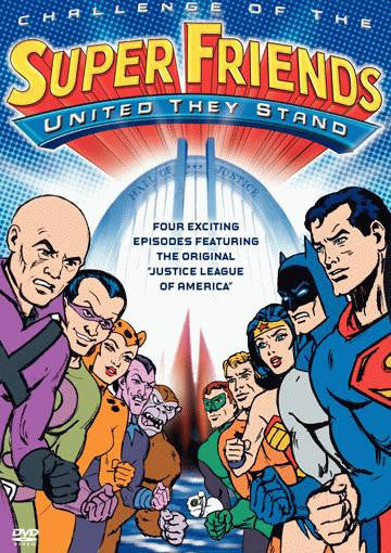 Challenge Of The Superfriends - United They Stand DVD (Free Shipping)