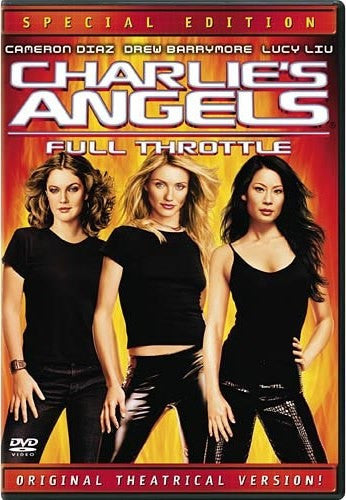 Charlie's Angels - Full Throttle DVD (Special Edition) (Free Shipping)