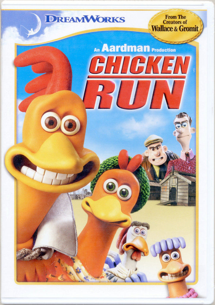 Chicken Run DVD (Free Shipping)