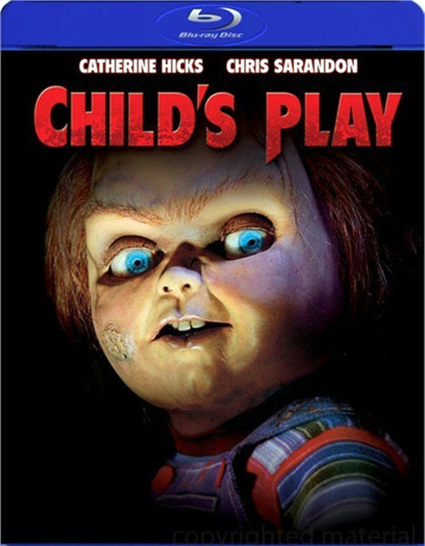 Child's Play Blu-Ray (Free Shipping)