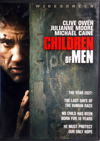 Children Of Men DVD (Free Shipping)