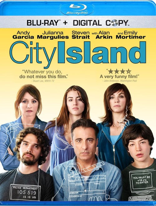 City Island Blu-Ray DVD (Free Shipping)