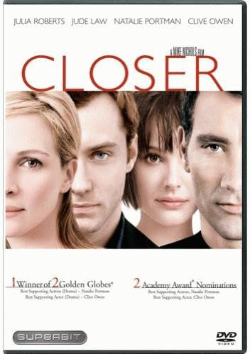 Closer DVD (Superbit) (Free Shipping)