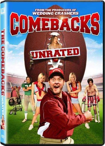 The Comebacks DVD (Unrated) (Free Shipping)