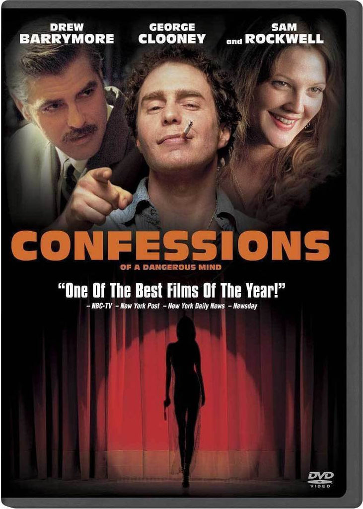Confessions Of A Dangerous Mind DVD (Free Shipping)