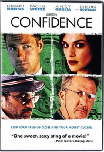 Confidence DVD (Free Shipping)