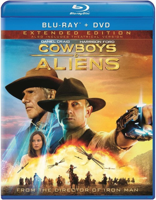 Cowboys & Aliens Blu-ray + DVD (2-Disc Extended Edition) (Free Shipping)
