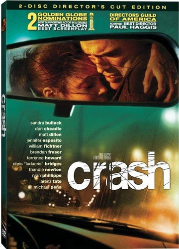 Crash DVD (2-Disc Director's Cut) (Free Shipping)