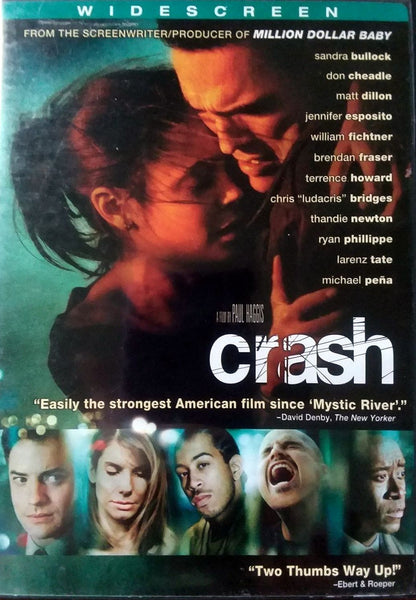 Crash DVD (Widescreen) (Free Shipping)