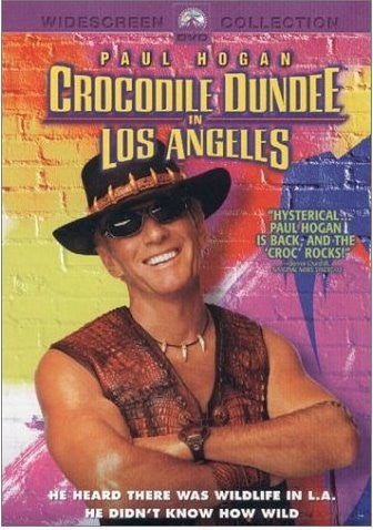 Crocodile Dundee in Los Angeles DVD (Free Shipping)
