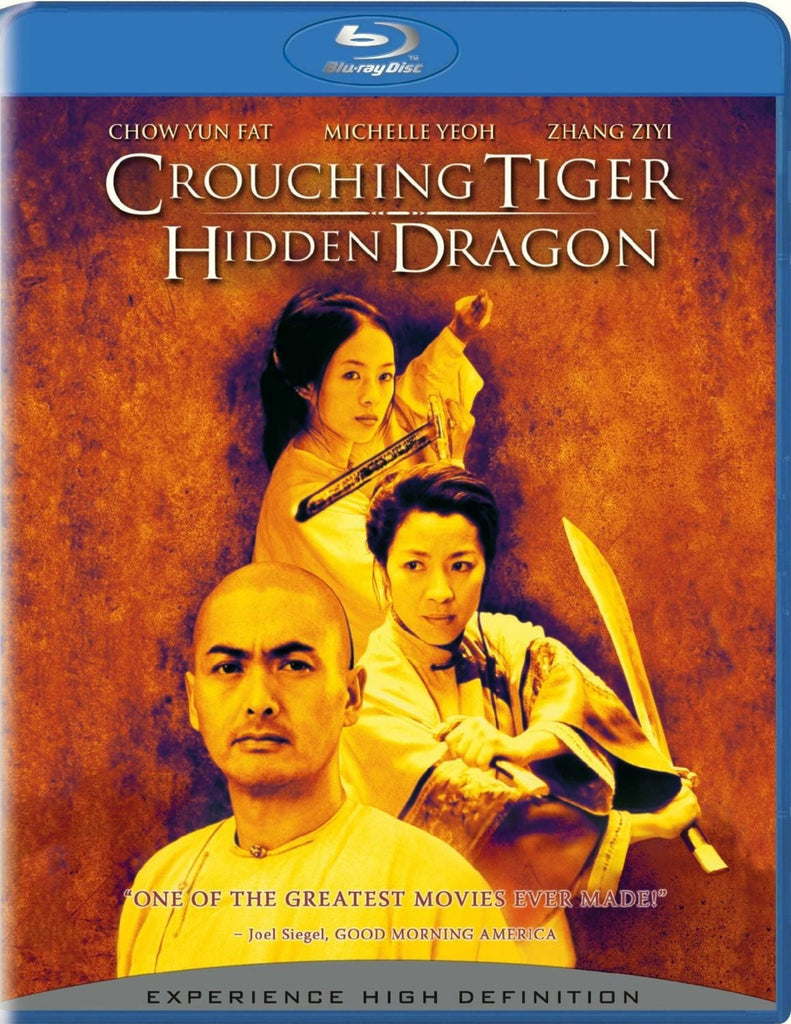 Crouching Tiger, Hidden Dragon Blu-Ray (Free Shipping)