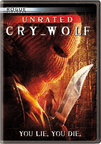 Cry Wolf DVD (Unrated) (Free Shipping)