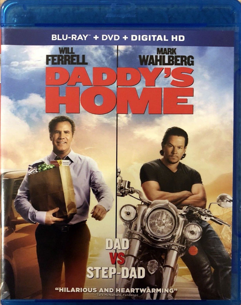 Daddy's Home Blu-Ray + DVD + Digital HD (2-Disc Set) (Free Shipping)