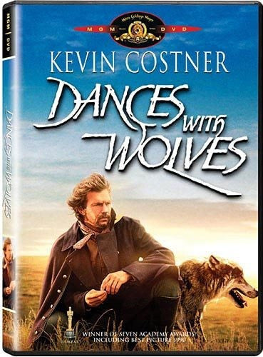 Dances With Wolves DVD (Theatrical Edition) (Free Shipping)