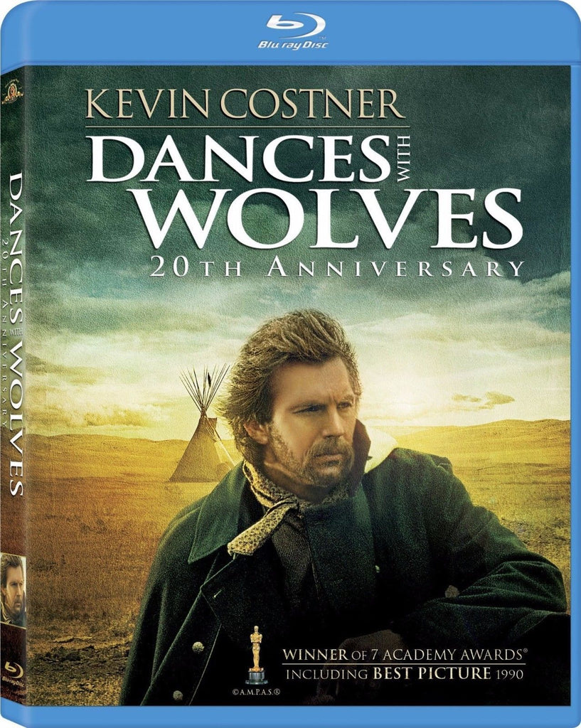 Dances With Wolves - 20th Anniversary Blu-Ray (2-Disc Set) (Free Shipping)