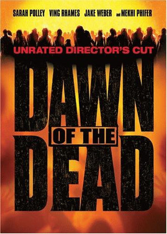 Dawn Of The Dead DVD (2004 / Unrated Director's Cut / Widescreen) (Free Shipping)