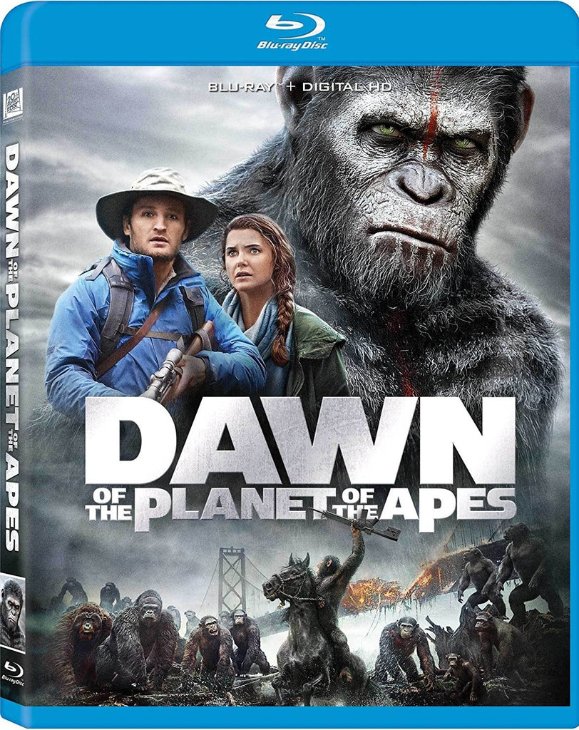 Dawn Of The Planet Of The Apes Blu-Ray (Free Shipping)