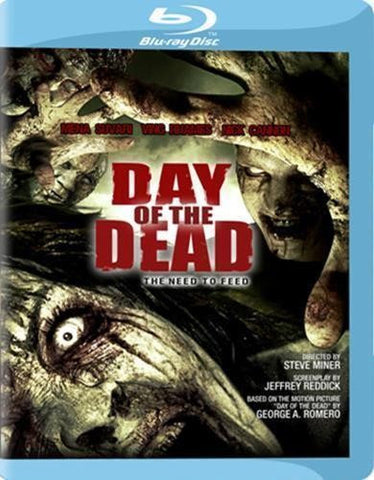 Day of the Dead Blu-Ray (Free Shipping)