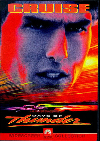 Days Of Thunder DVD (Free Shipping)