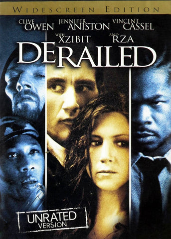 Derailed: Unrated DVD (Unrated Widescreen) (Free Shipping)