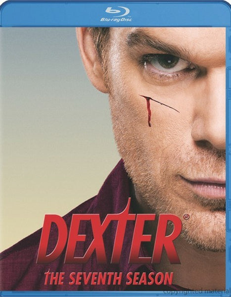 Dexter: The Seventh Season Blu-ray (3-Disc Set) (Free Shipping)