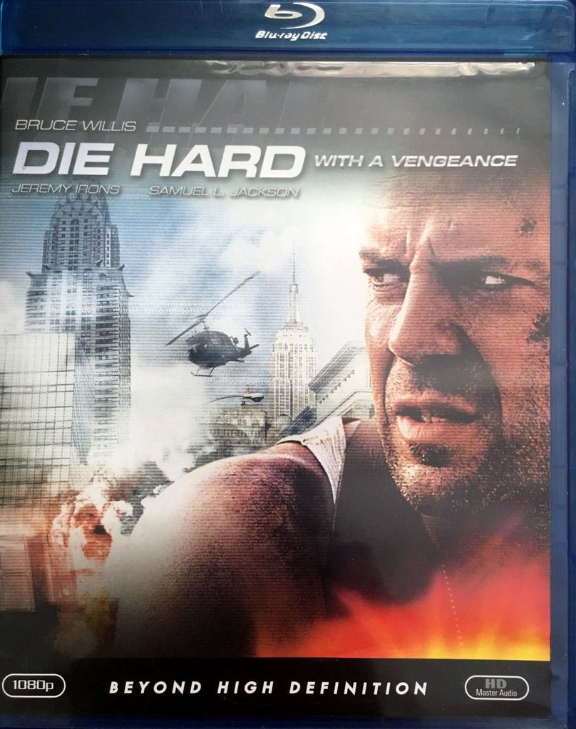 Die Hard With A Vengeance Blu-Ray (Free Shipping)