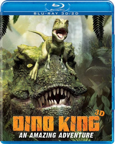 Dino King - An Amazing Adventure 3D Blu-Ray (Free Shipping)